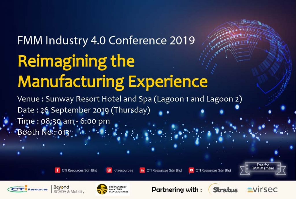 CTI Resources FMM Industry 4.0 Conference: Reimagining the Manufacturing Experience