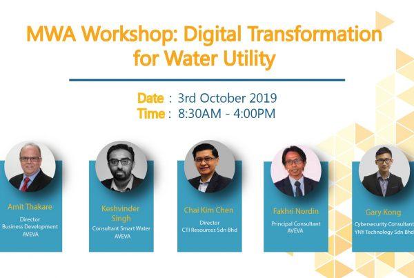 MIWC 2019 CTI Workshop Digital Transformation in water Industry