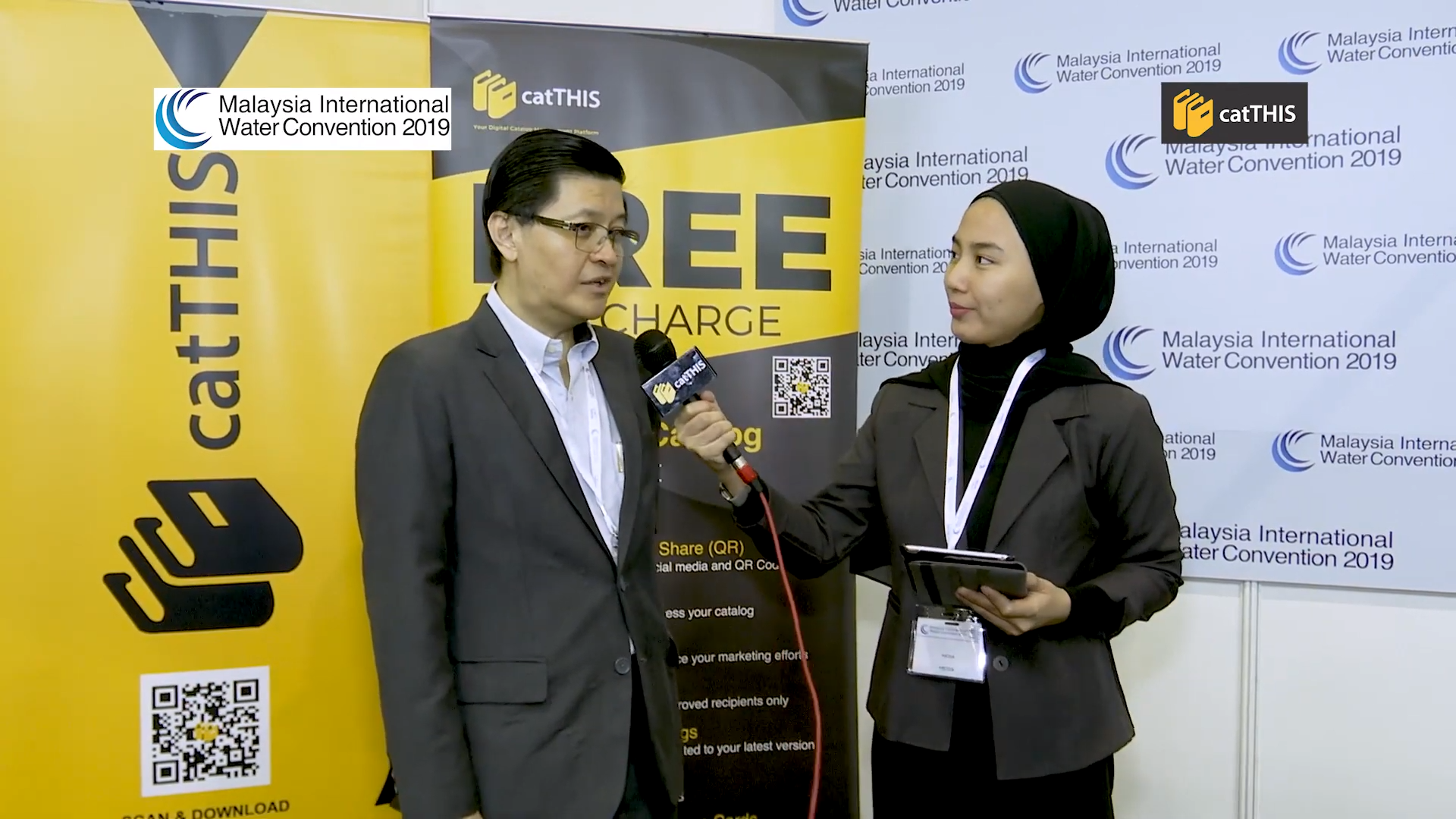 Interview of Mr Chai CTI Resources by catTHIS @ MIWC 2019